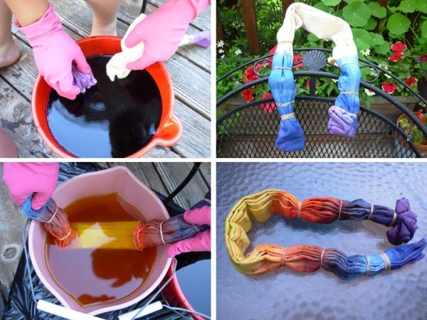 Окраска тканей своими руками