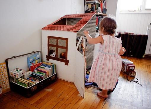 Маленький домик для малыша своими руками
