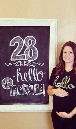 Ребенок на 28 неделе беременности