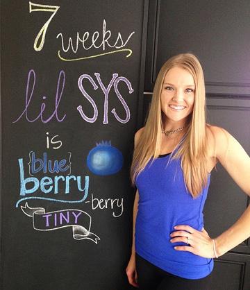 живот на 7 неделе беременности