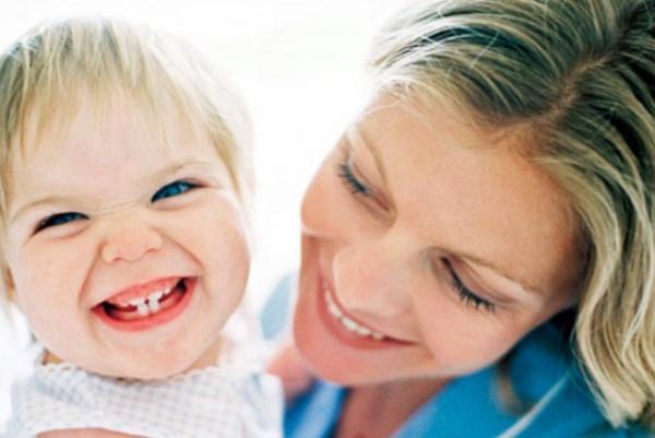 первые зубы у детей