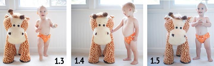 ребенок в 1 год 3 месяца — 1 год 5 месяцев